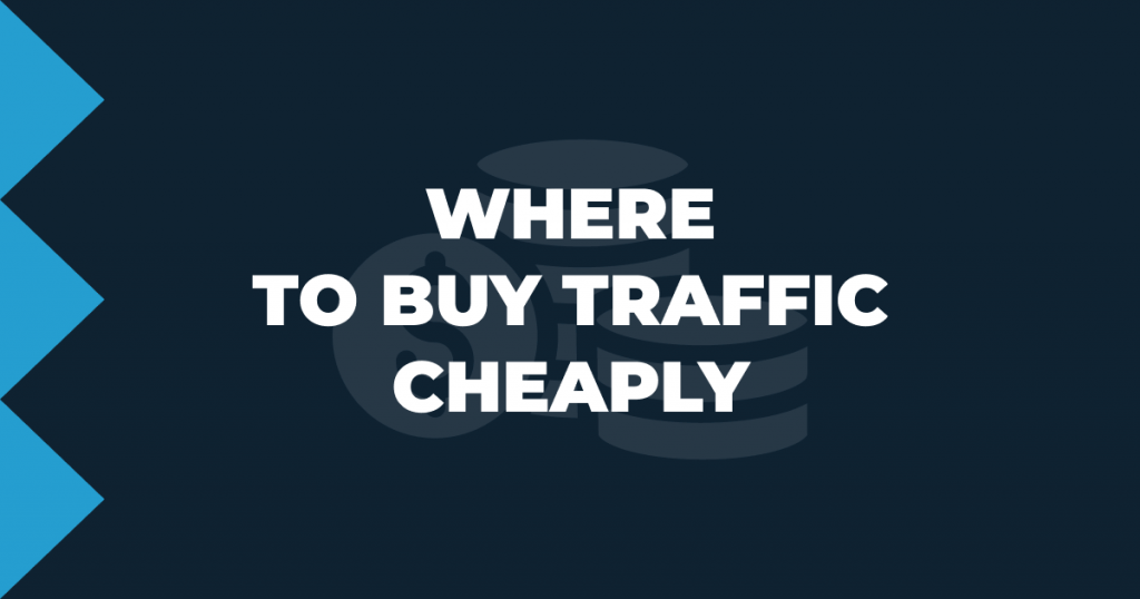 Where to buy traffic cheaply